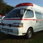 トヨタ ハイエース 救急車