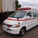 トヨタ グランビア 救急車